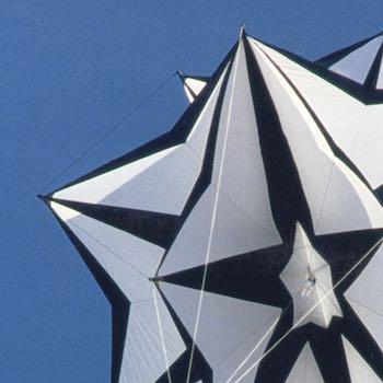 Schwarz/Weiß Stern